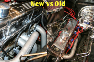 Here are some before-and-after pictures to help better illustrate just how much nicer it now looks. We went for a subtle yet classy feel, so seeing new and old side-by-side really solidifies just how much valve covers and tidy plug-wire routing can do for your engine bay, no matter the make, model or year of your project car. valve covers.