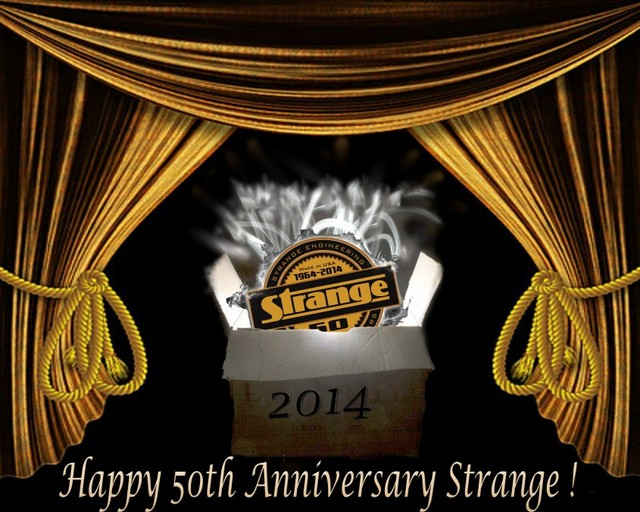 Strange Engineering 50th anniversary