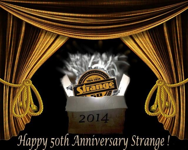 Strange Engineering 50th anniversary