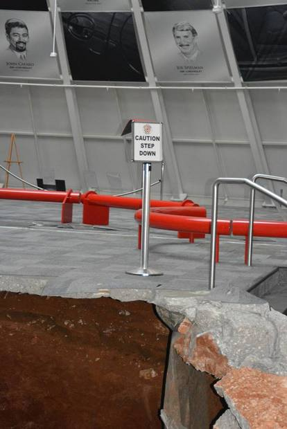 national corvette museum step down sinkhole