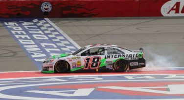 Kyle Busch Defends Auto Club 400 Title