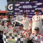 Larson Takes Checkered Flag at TreatMyClot 300