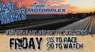 Fast Friday Street Racing Returns to Texas Motorplex