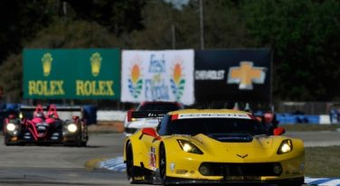 Two Corvette C7.R Race Cars Will Compete at the 2014 24 Hours of LeMans