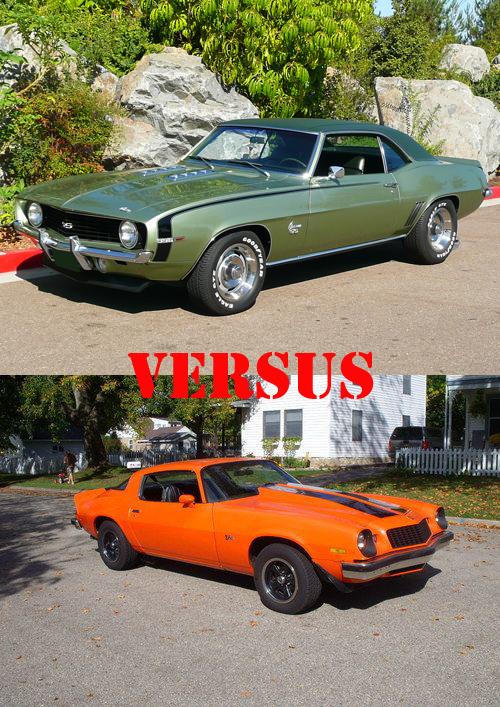 Camaro SS vs Camaro Z28