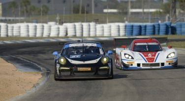 Corvette Daytona Prototypes and Porsches Shine at Sebring Winter Testing