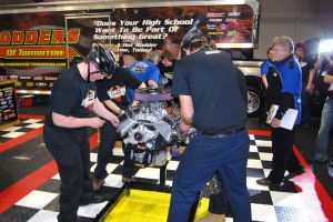 Hot Rodders of Tomorrow spun their wrenches in competition.