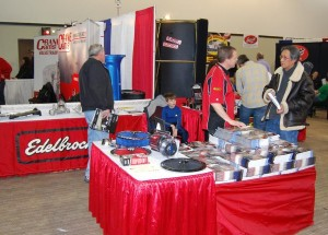 Edlebrock gave seminars and showcased products for show attendees.