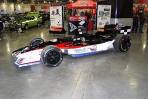 This car promoted Aug. 16-17 Milwaukee 250 (www.milwaukeeindyfest.com).