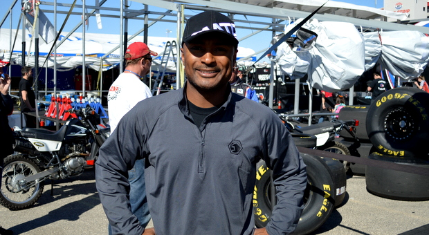 Top Fuel driver Antron Brown