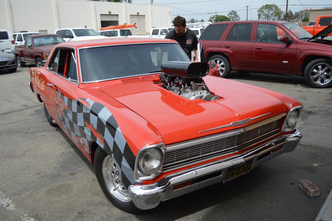 Blown Chevy II Bones Fab