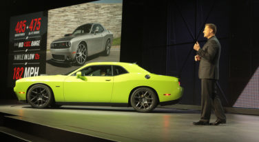 2015 Dodge Challenger New York Auto Show
