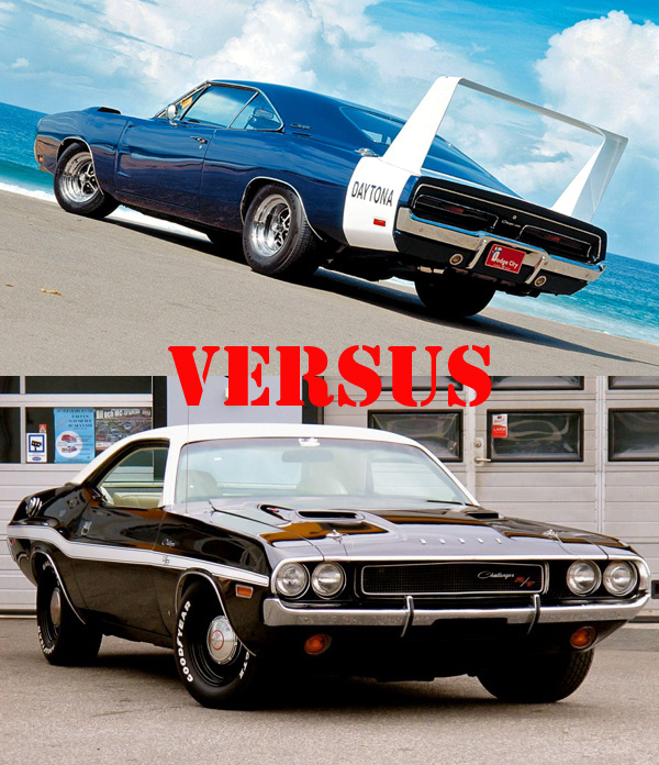 Muscle Car Madness Round 7 Cars
