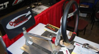 Modern Rendition of Fat Man Steering Wheel is for Racers