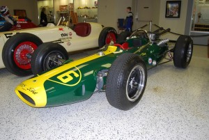 Some historians consider Jimmy Clark's Lotus to be the all-time most significant racing car in the Hall of Fame.