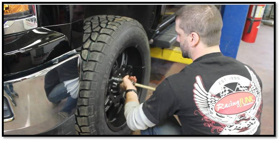 jim MT tire installation