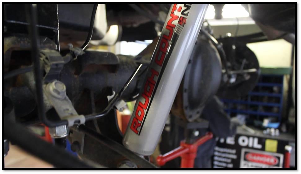 rear nitro spring installed