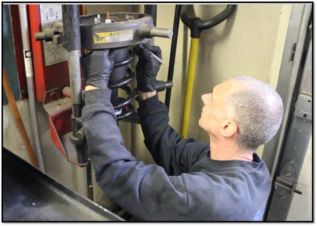 vinny strut assembly spring compressor