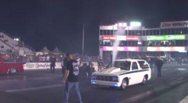 [VIDEO] 1300 HP Chevy Blazer Destroys at the Strip