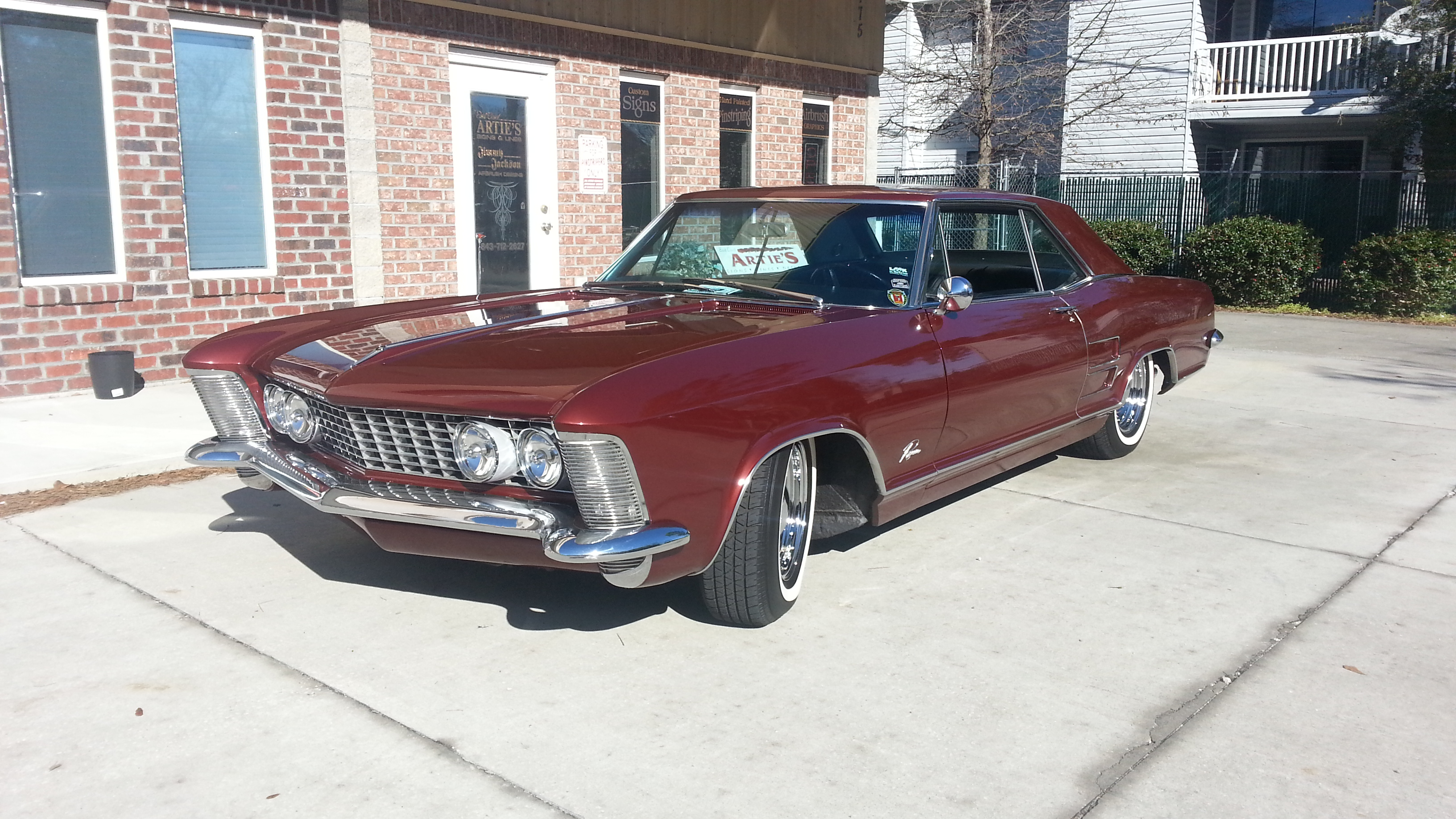 A 1963 Buick Riviera Gets New Plumbing Thanks to Edelbrock