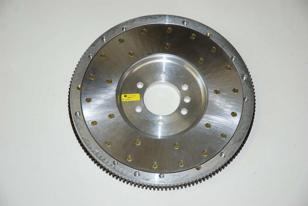 Although not a part of the RST clutch package (we pointed out previously the setup is designed to work with stock OEM flywheel assemblies or available with a steel flywheel), you can use an optional aluminum flywheel. McLeod have successfully mated aluminum flywheels to dual-purpose street-strip machines. Keep in mind this particular application for the aluminum flywheel on the street was a light car with a 572-cubic inch big block.