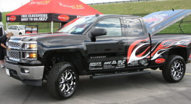 Mickey Thompson Tires Raise the Bar on the Racing Junk and AED Performance 2014 Chevy Silverado
