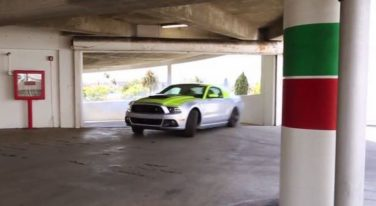 [VIDEO] Valet Parking a Roush Phase 3 Mustang