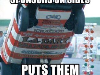 Drag Car Wheel Stand Meme