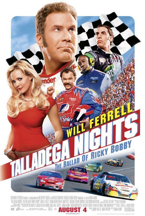 Taledega Nights Poster