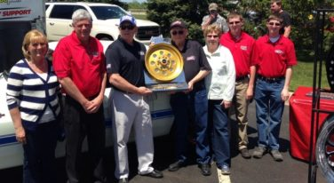 WELD Racing Revolution Award Presented to Lane Family