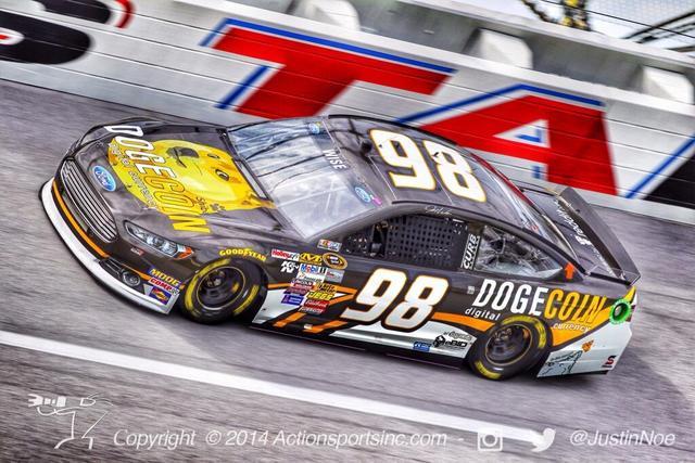 Doge Coin NASCAR
