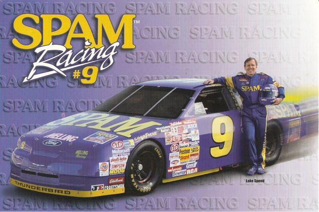 Spam NASCAR