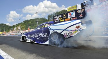 NHRA Bristol Winners Honor Their Dads on Father's Day
