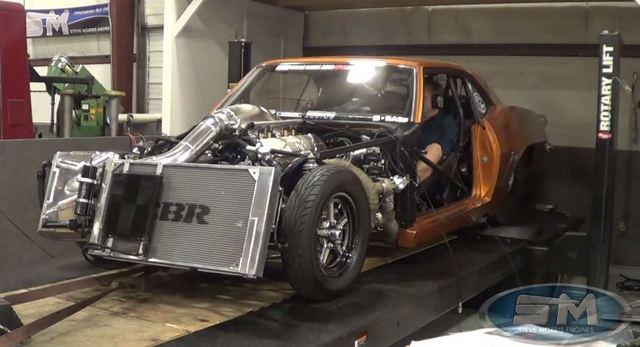 1969 Camaro 2500 hp dyno pull
