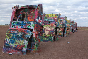 2Cadillac Ranch