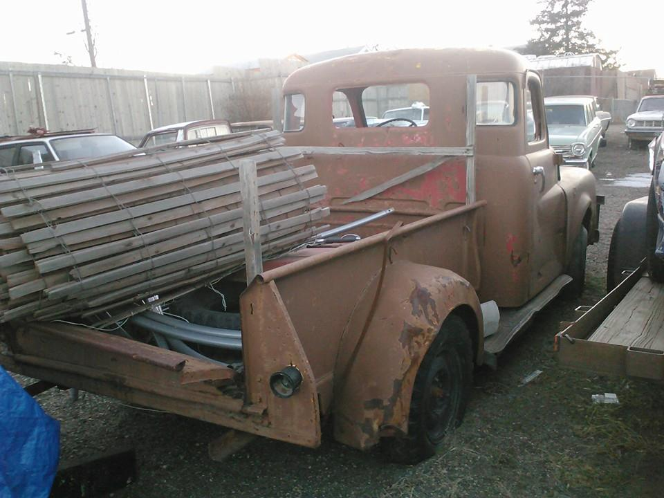 50 Dodge Pickup bed