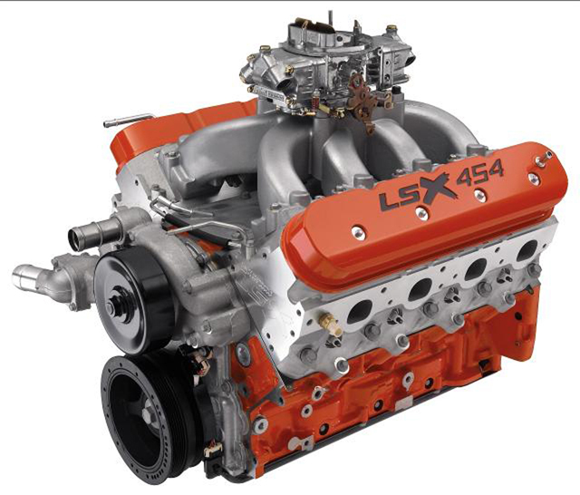 There are all sorts of cool crate motors out there, including this 620 HP 454 LSX from Chevrolet Performance (or check out the 700+ HP LSX454R job in our lead photo).  When you buy something like this from a reputable source such as Chevrolet, you can expect it to be done right.
