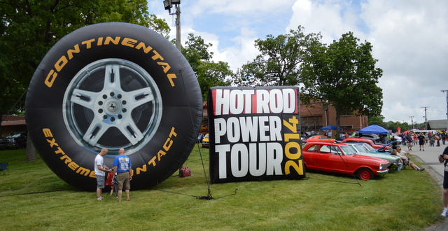 Hot Rod Power Tour 2014