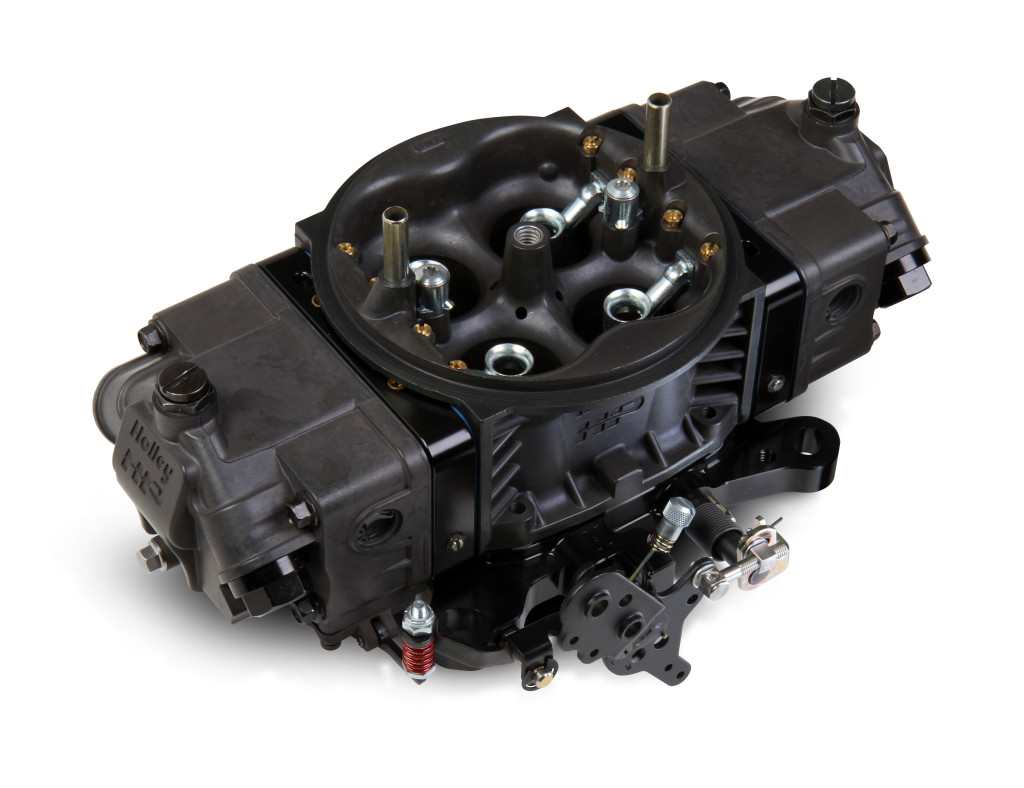 Courtesy: Holley For a baseline setup, we'd pick a Holley 415 Ultra Series carburetor. It's loaded with bracket racer friendly features.  Check out the text for more info.