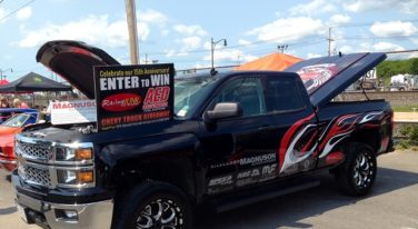 A.R.E. Keeps Things Covered for the 2014 RacingJunk/AED Performance Chevrolet Silverado