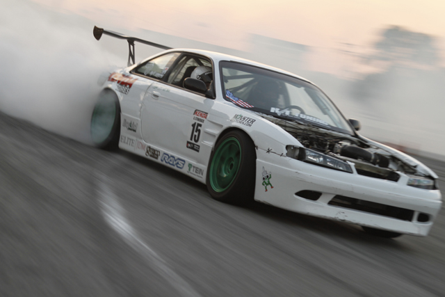 Holley LS Fest Drifting