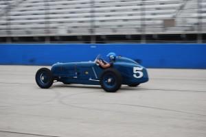 Dana Mecum's 1937 Thorne Sparks Big Six Blue No. 5.