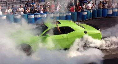 [VIDEO] SRT Brand CEO Does a Massive Burnout