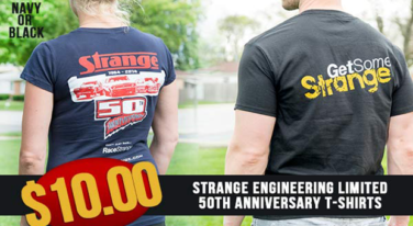 [Press Release] Strange Engineering Limited 50th Anniversary T-Shirts