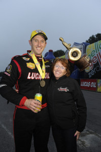 Morgan Lucas and mom
