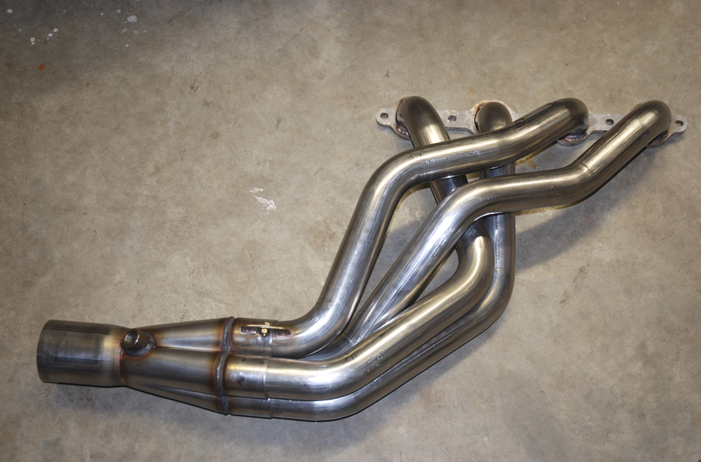 You should find that most non-supercharged high performance headers such as the examples (first photo) from ARH make use of equal length tubes and collectors (or at least close to equal lengths).