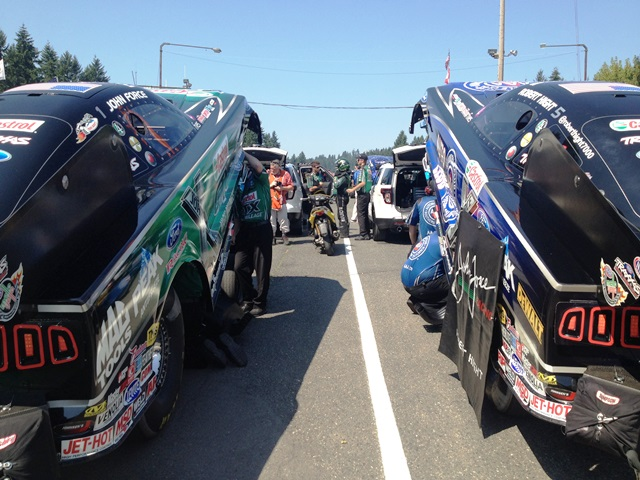 Robert Hight, John Force
