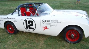 1954 Corvette Replica Honors International Racer
