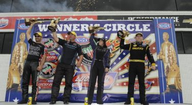 DeJoria and Crampton Shine at NHRA U.S. Nationals in Indianapolis