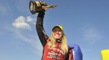 Courtney Force on Top at AAA Insurance NHRA Midwest Nationals